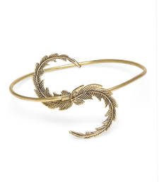Buy Alloy Armlet for women Entwined Leaves Armlet bajuband online