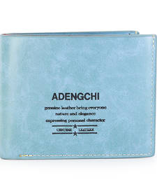 Buy Sky blue pu leather clutch_purses wallets wallet online
