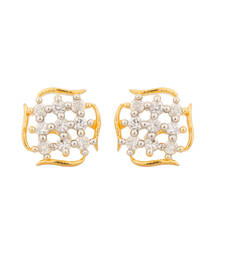 Buy Fabulous Earring With Yellow Gold Toning jewellery-below-300 online