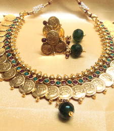Buy traditional ginni necklace  necklace-set online