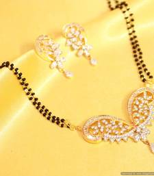 Diamond Look Beautiful Mangalsutra shop online