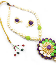 Buy Exotic Pacchi Necklace Set necklace-set online