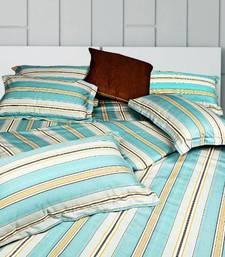 Buy Just Linen  Single Size Premium Designed Striped Duvet Cover duvet-cover online