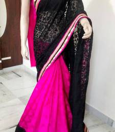 Buy PARTY WEAR SAREE chiffon-saree online