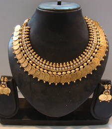Buy Coin temple jewellery...Design no. 10b.1132 necklace-set online