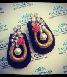 Buy Coral Lillete Earings danglers-drop online