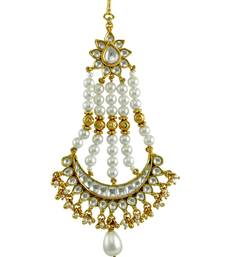 Buy Clear Traditional Rajwadi Passa Side Jhoomer Jewellery for Women - Orniza eid-jewellery online