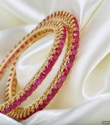 Buy American Diamond Bangles bangles-and-bracelet online