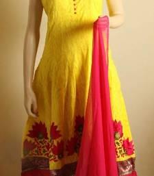 Buy designer pakistani anarkali readymade dres dress online