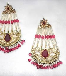 Buy Zhumar Ruby Earing danglers-drop online