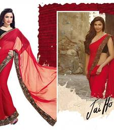 Buy Jai Ho Inspired Collection by Vishal chiffon-saree online
