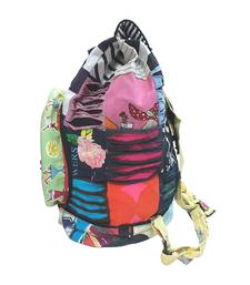 Buy Ripped Fabric Backpack (Multicolor) backpack online