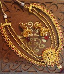 Buy TRADITIONAL TEMPLE KEMP JEWELRY SET necklace-set online