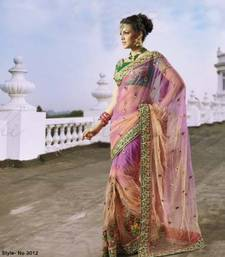 Buy Designer Pure Net Saree net-saree online