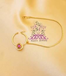 Buy Ruby Zircon Nose Ring  nose-ring online
