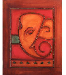 Buy Antique ganesha painting 04 painting online