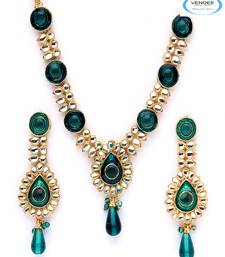 Buy Vendee Wedding fashion necklace set Necklace online