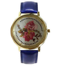 Buy Blue desiner watch gifts-for-sister online