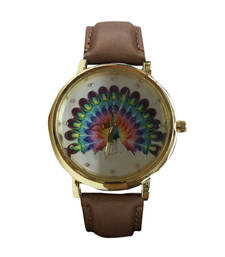 Buy Brown desiner watch gifts-for-sister online