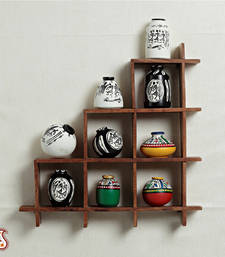 Buy Wall decor with miniature pots home-decor online