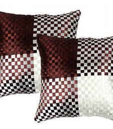 Buy Brown Cushion Cover - Set of 2 pillow-cover online