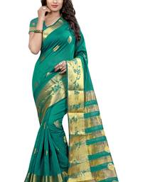 Buy RAMA hand woven tussar silk saree With Blouse tussar-silk-saree online