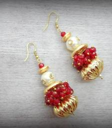 Buy Matka Loop Earing - Gulabo danglers-drop online