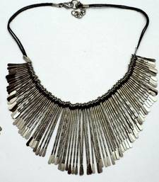 Buy tribla spiked chocker Necklace online