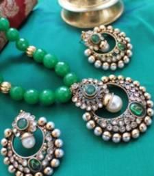 Buy Design no. 10b.1824....Rs. 2650 necklace-set online