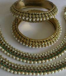 Buy Designer Anklets with Traditional Kadas anklet online