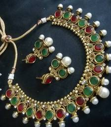 Buy elegant polki set Necklace online