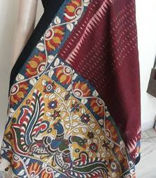 Buy Pen kalamkari dupatta stole-and-dupatta online
