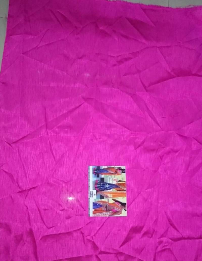 Buy Orange Printed Georgette Saree With Blouse Online