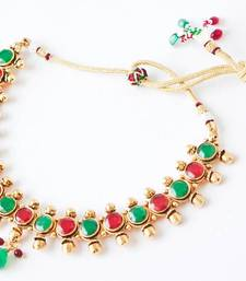 Buy multi round gold - nkf1402m Necklace online