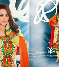 Bollywood Designer Pretty Zinta Semi Stitced Anarkali
