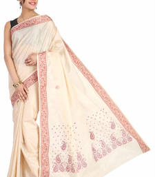Buy Pavecha's Mangalgiri Polycotton Saree - LOC RPMK818 cotton-saree online