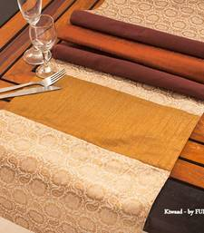 Buy Runner - Brown  table-mats-and-runner online