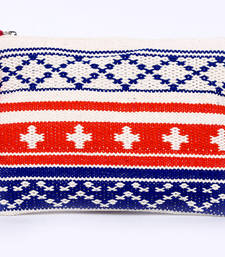 Buy Multicolor cotton fashion hand embroidery wallets wallet online