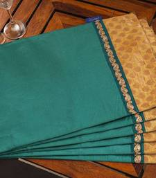Buy Table mats - Teal table-mats-and-runner online