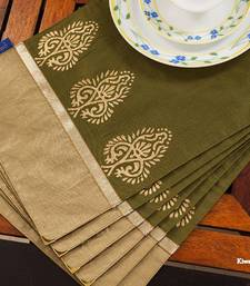 Buy Table mats - Green  table-mats-and-runner online