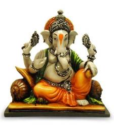 Buy Ganesha Resting on Pillow office-opening-gift online