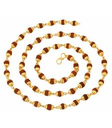 Buy Rudrax Designer Gold Plated Chain For Man Other online