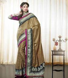 Buy Shimmer Crape Saree art-silk-saree online