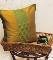 Buy Cushion covers - Mustard patch  pillow-cover online