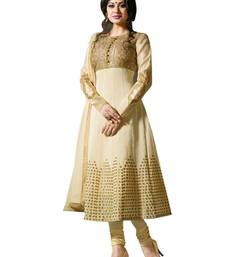 Buy Triveni Auspicious Traditional  Embroidered Anarkali TSXPRSK1177 dress-material online
