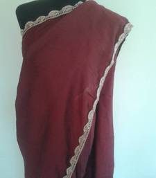 Buy Maroon Cotton Silk Saree cotton-silk-saree online