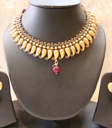 Buy Design no. 10b.3470....Rs. 2550 necklace-set online