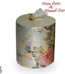 Buy Festive design pillar candle candle online