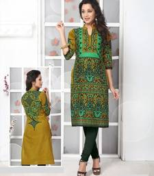 Buy multicolour cotton printed kurti cotton-kurti online