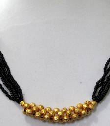 Buy Multi line golden ball mangalsutra necklace mangalsutra online